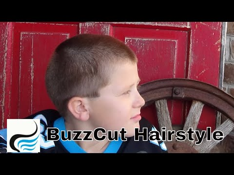 How To Do ( Buzzcut Hairstyles)  for Boys Tutorial