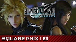 Full Final Fantasy 7 Remake Gameplay Premiere Presentation   Square Enix E3 2019