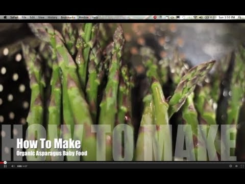 How To Make Asparagus Puree Baby Food