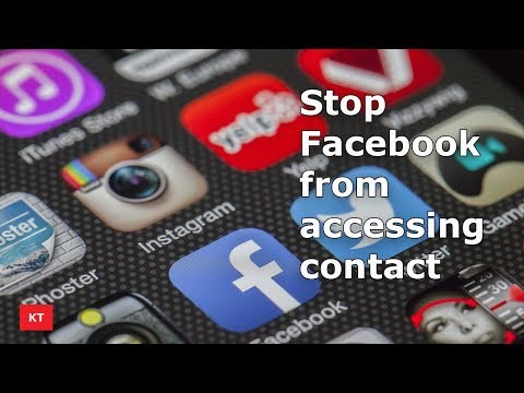 Stop Facebook from accessing contact from your iPhone