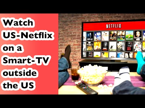 How to watch US-Netflix on a Smart-TV outside the US | Watch new House of Cards Season 4 | Vlog #12