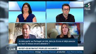 Les Français pourront-ils partir en vacances ? - Reportage #cdanslair 25.04.2020