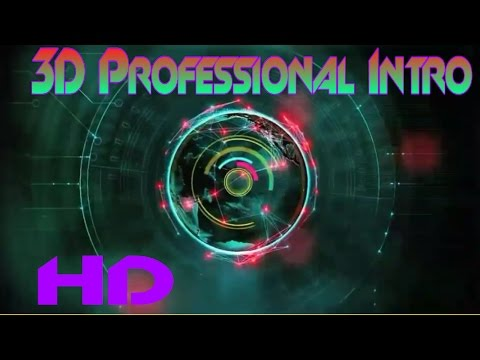 Hindi-How To Make Professional 3D Intro With Mobile