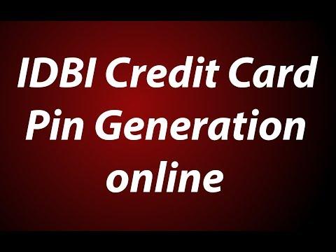 IDBI Credit Card Pin Generation | Change Online