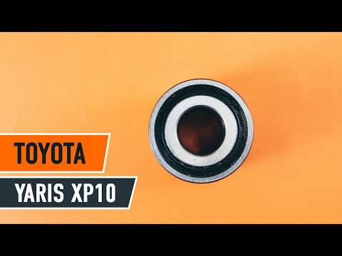 How to replace front wheel bearing TOYOTA YARIS XP 10 TUTORIAL | AUTODOC