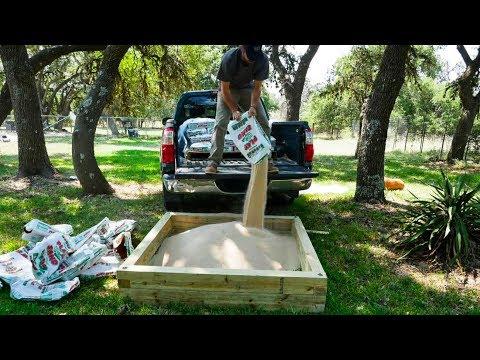 Building A Sandbox For My Kids