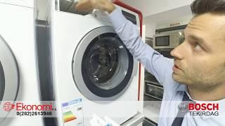 Download Bosch Çamaşır Makinesi WAT24480TR 1200 devir inceleme tanıtım WAT24460TR WAT28480TR Seri 6 Video