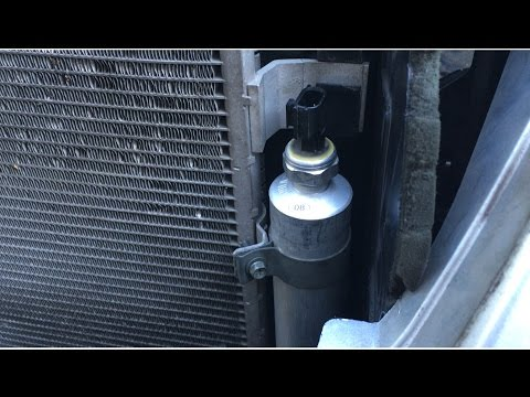 AC Receiver Drier Liquid Tank Replacement - Nissan Altima 2007-2012