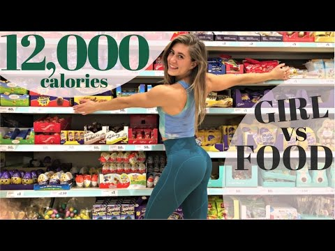 10,000 + CALORIE CHALLENGE    GIRL vs FOOD    EPIC CHEAT DAY