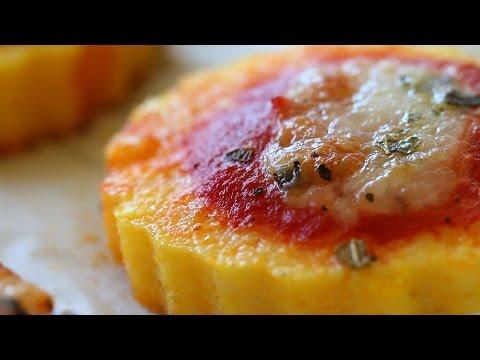 Gluten free polenta pizza recipe