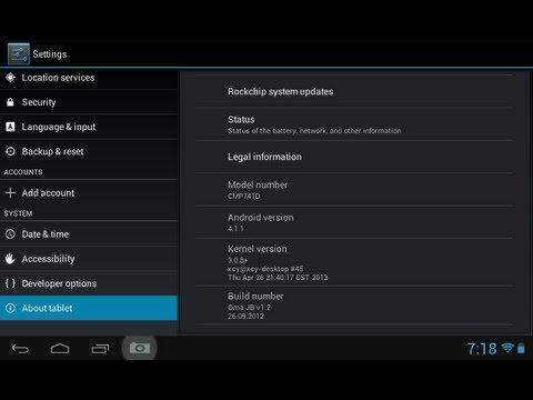 Craig CMP741D Android Tablet - Jellybean Install