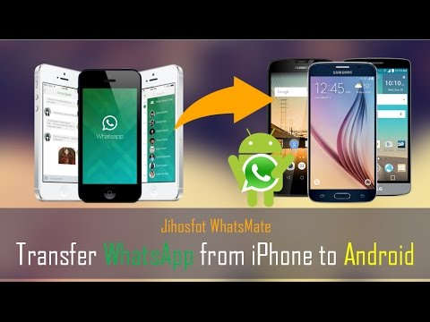 How to Transfer WhatsApp Data from iPhone to Android?