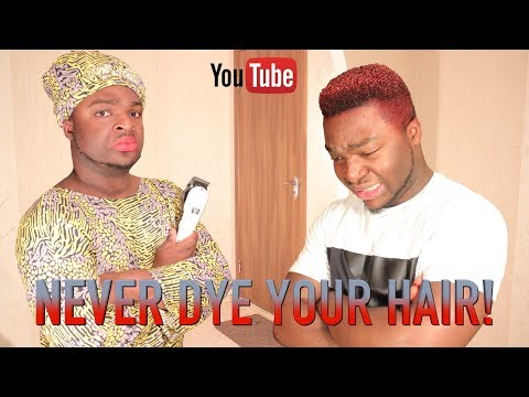 Skit : Samspedy - Never Dye Your Hair in an African Home