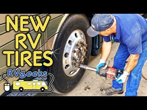 RV Tire Replacement Overview & Tips