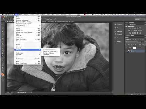 Saving Files in Photoshop CS6