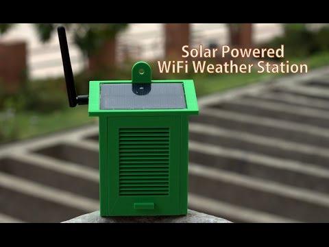 DIY Solar Powered WiFi Weather Station
