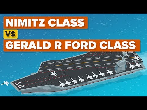 Nimitz Class vs Gerald R Ford Class - How Do The Aircraft Carriers Compare?