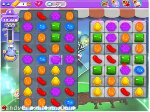 Candy Crush Dreamworld Level 70  Walkthrough Video & Cheats