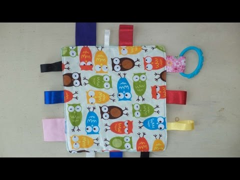 How To Create A Sensory Taggy Blanket For Babies - DIY Crafts Tutorial - Guidecentral