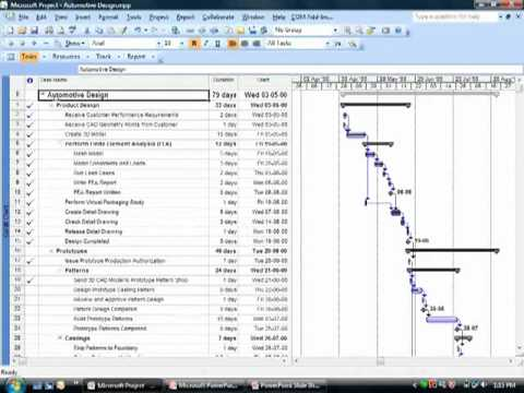 Project 2003/2007 Project Summary Task