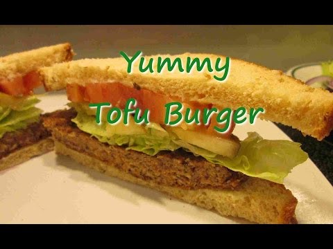 How to Make YUMMY TOFU BURGERS ~ Vegetarian Tofu Recipe