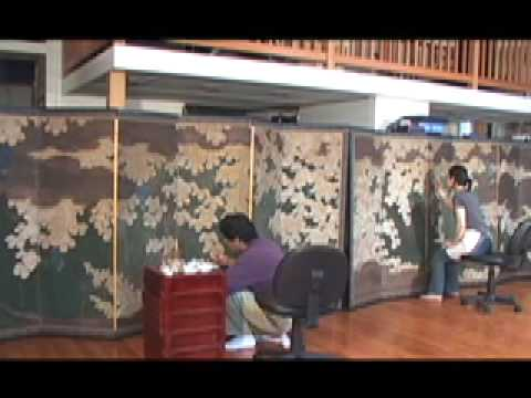 Conservation of Japanese Screen Paintings