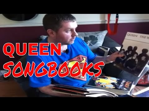 Queen Songbook and Guitar Tab Collection