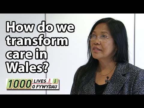 How do we transform healthcare in Wales?