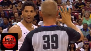 Josh Hart EJECTED from Game / LA Lakers vs Blazers Championship Game / July 16