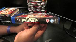 Fast & Furious: The Complete Collection on Blu Ray: 1 Minute Unboxings on DrifterTVHD