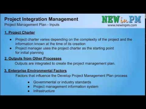 Chapter 4 - Develop Project Management Plan