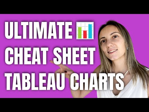 Ultimate Cheat Sheet on Tableau Charts