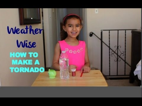 Weather Wise| How to Make a Tornado in a Bottle