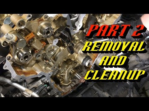 Ford F-150 3.5L Ecoboost Timing Set Replacement Part 2: Removing Valve Train Components