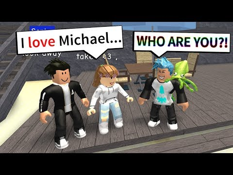 GIRLFRIEND CHEATS ON BOYFRIEND WITH ME?! (Roblox Highschool)