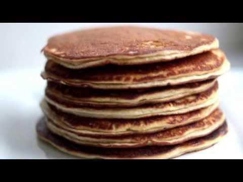 Easy Protein Pancake Recipe - Chocolate and Banana