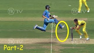 Most Stupid Ways to Get RUNOUT In Cricket - Part 2 - LOL - Don