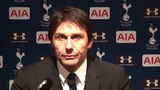 Tottenham 2-0 Chelsea - Antonio Conte Full Post Match Press Conference
