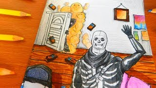 how to draw a skull step by step for beginners-how to draw a
