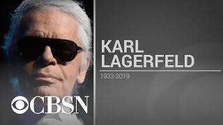 Karl Lagerfeld, Chanel fashion icon, dies