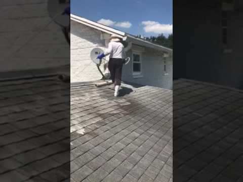 Non Pressure Roof Cleaning | No Pressure | Roof Cleaning | Shingle Roof | GetMyRoofCleaned.com