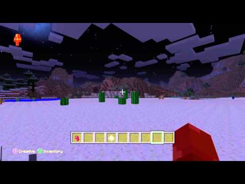 PS4-Minecraft -How to make a splash potion of poison