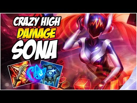 CRAZY DAMAGE ON SONA SUPPORT | League of Legends (Headphones Giveaway!)