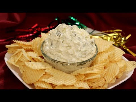 Dill Pickle Dip Recipe - Amy Lynn's Kitchen