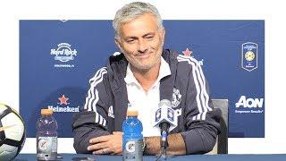 Real Madrid 1-1 Man Utd (1-2 Pens) - Jose Mourinho Post Match Press Conference - Man Utd Tour 2017