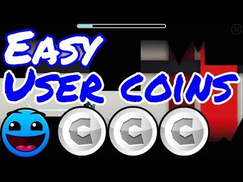 Easy user coins #2 |Geometry dash 2.1|