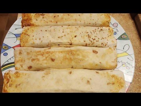 How to make Mexican burritos.