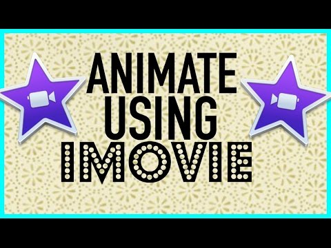 HOW TO ANIMATE TEXT IN IMOVIE!