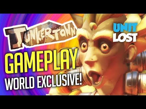 Overwatch - Junkertown Gameplay! New Map Gameplay Exclusive!