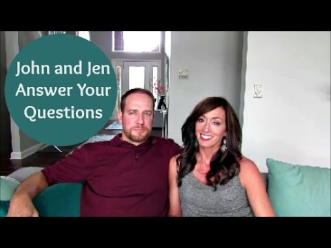 John and Jen Q&A: Becoming a Christian   Strong Marriage   Date Night   YouTube & More  